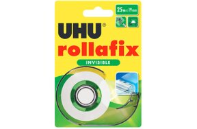 ΒΑΣΗ CELLO UHU ROLLAFIX 19mm x 25m INVISIBLE